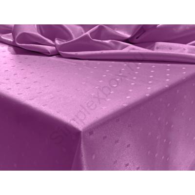 LTXMP PRÉMIUM damaszt abrosz, kiskockás mintával  LEVENDULA