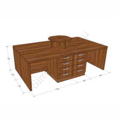 Simplex Prémium íróasztal