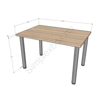 Simplex Standard íróasztal