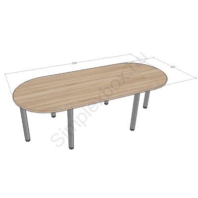 Simplex Standard asztal